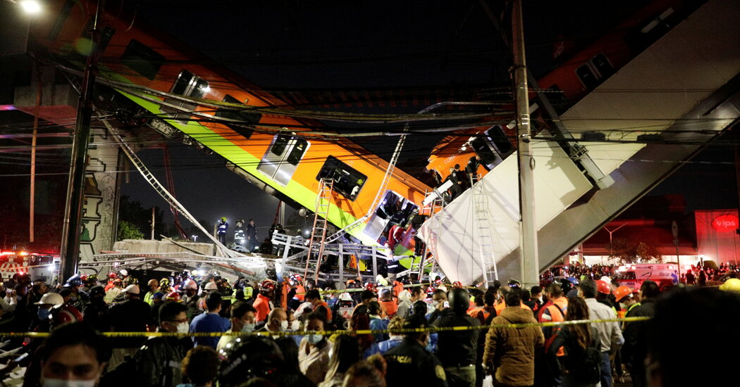 Faulty Studs Led to Mexico City Metro Collapse, Attorney General Says