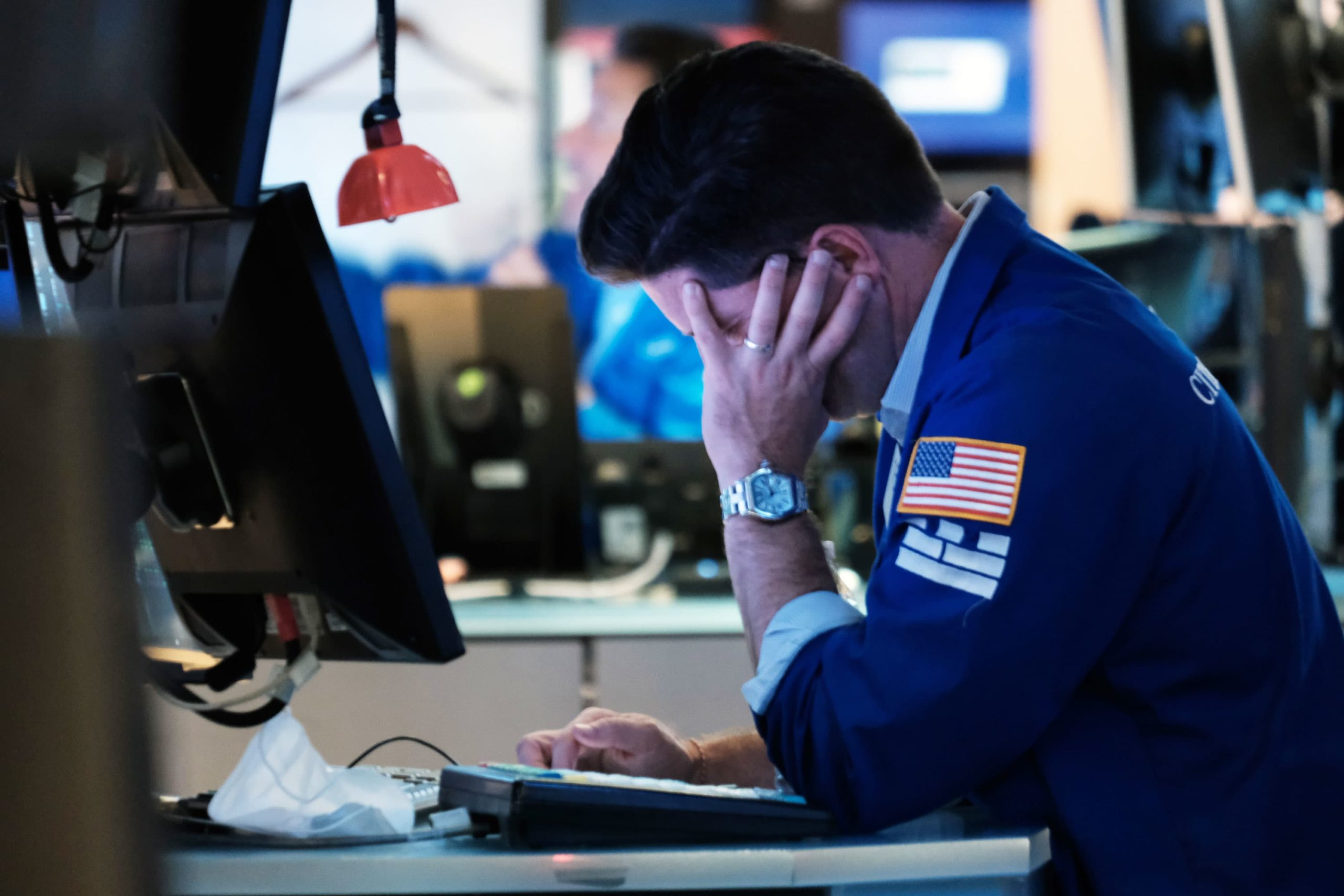 Stock futures are flat in overnight trading after a losing day