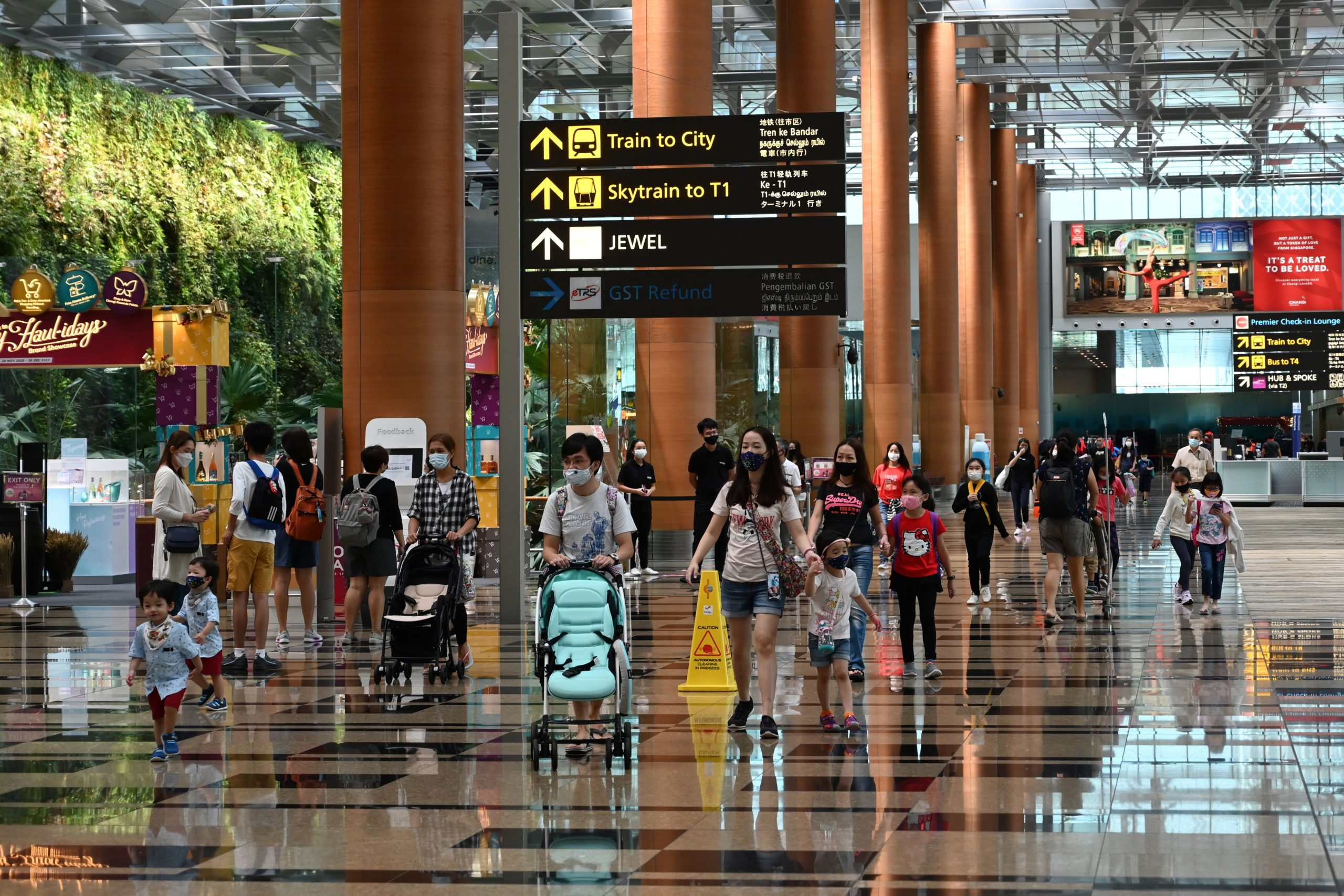 Singapore's 'vaccinated travel lanes' see Expedia flight searches soar
