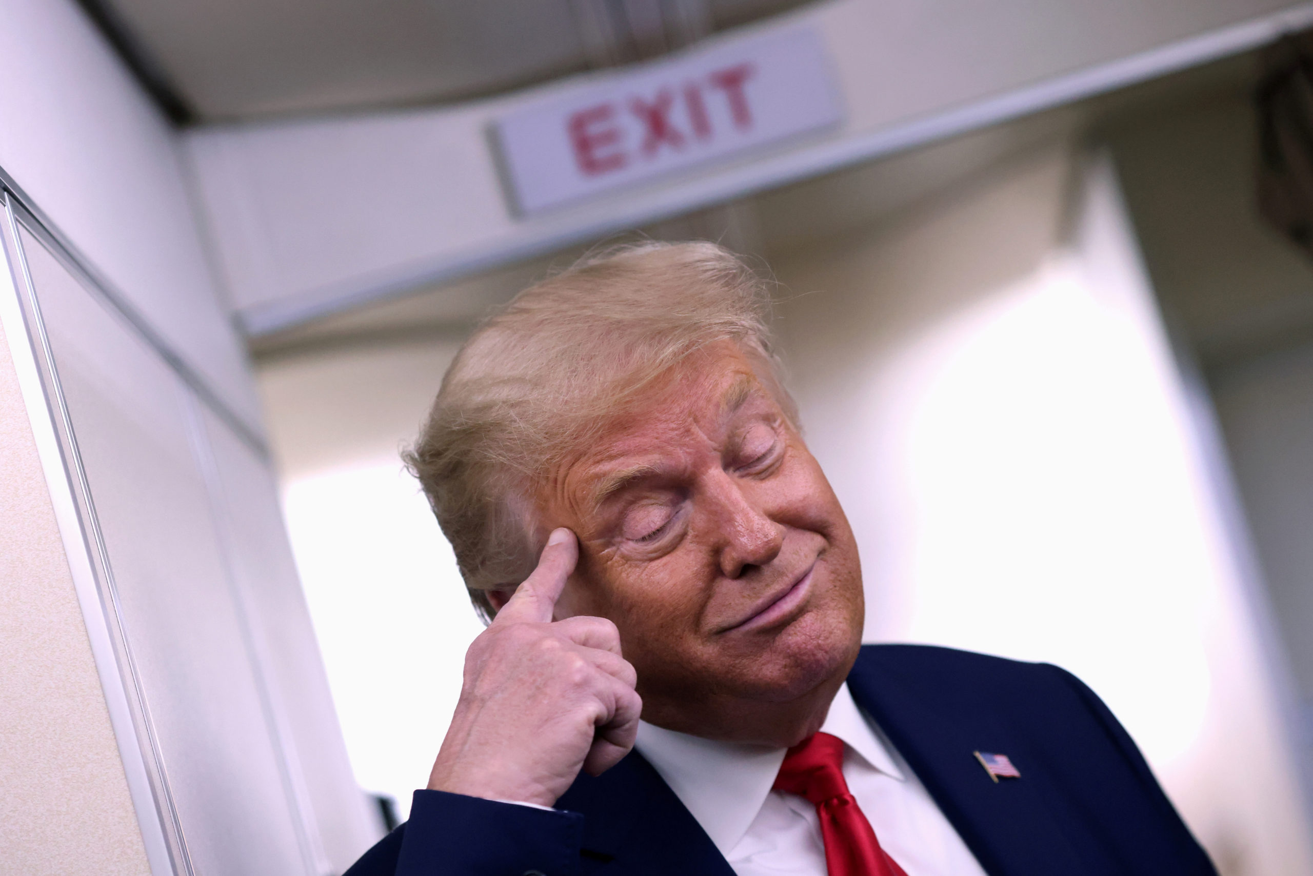 Trump Loses It At Republican Retreat And Declares He's Not Into Golden Showers