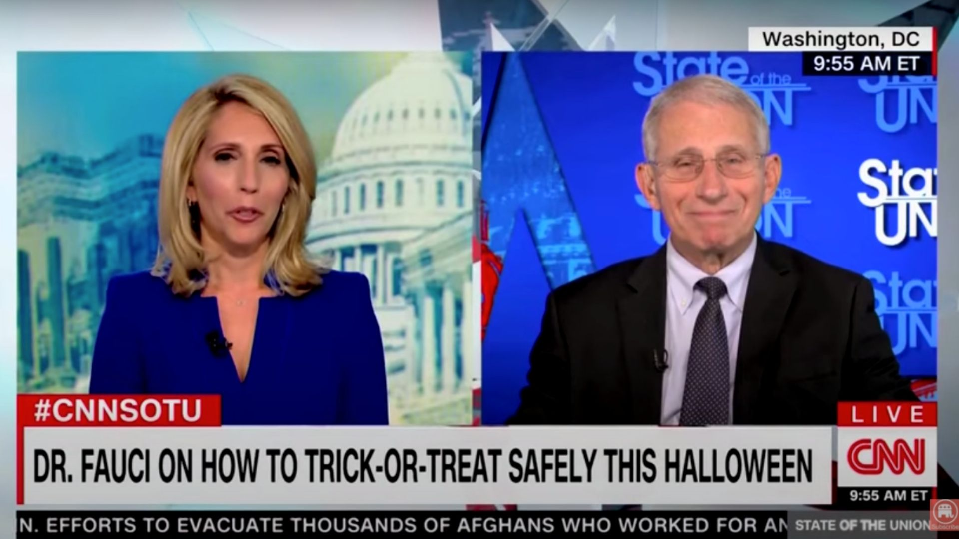 Fauci Says Halloween Is A Good Time To Think About Getting Vaccinated