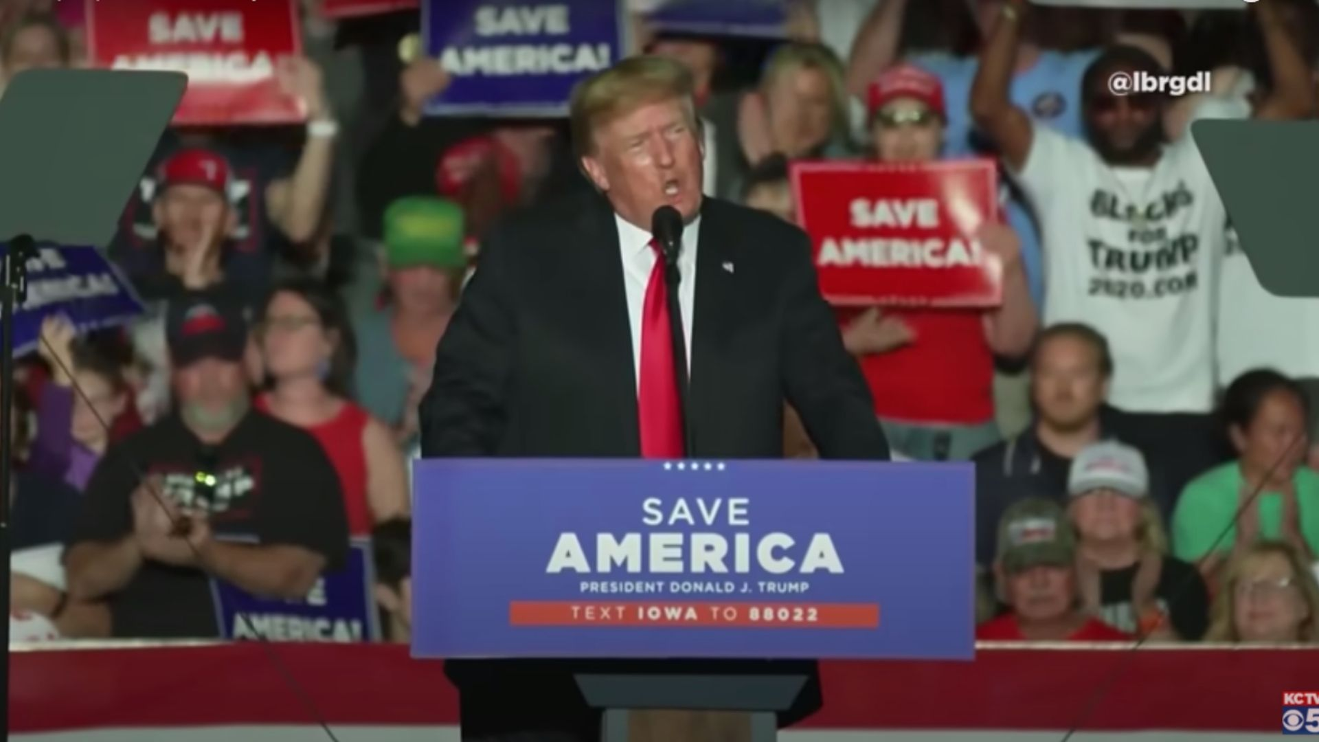 Trump Promises To 'Take America Back' At Rally, Unveils New Slogan Sparking 2024 Chatter