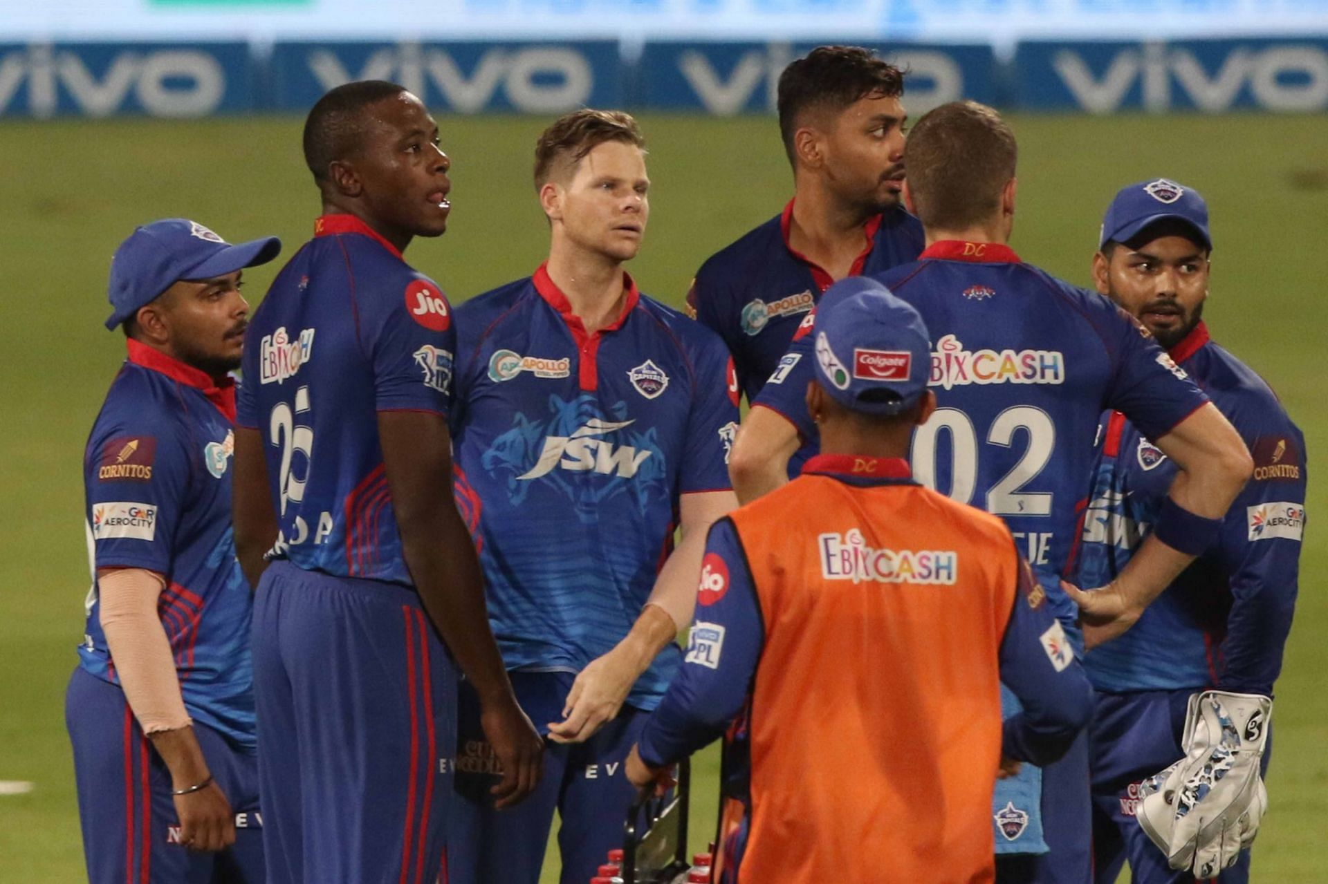 Delhi Capitals lost twice in the playoffs to crash out of IPL 2021 before the final. (Image Courtesy: IPLT20.com)
