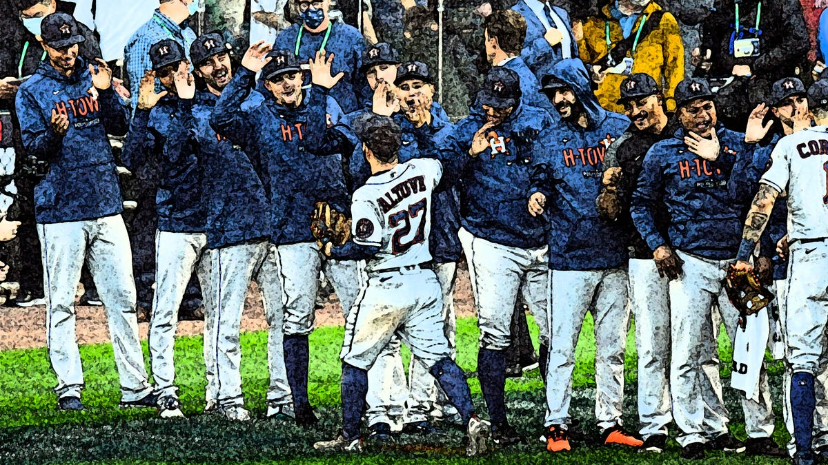 Astros finish of White Sox to advance to ALCS meeting with Red Sox