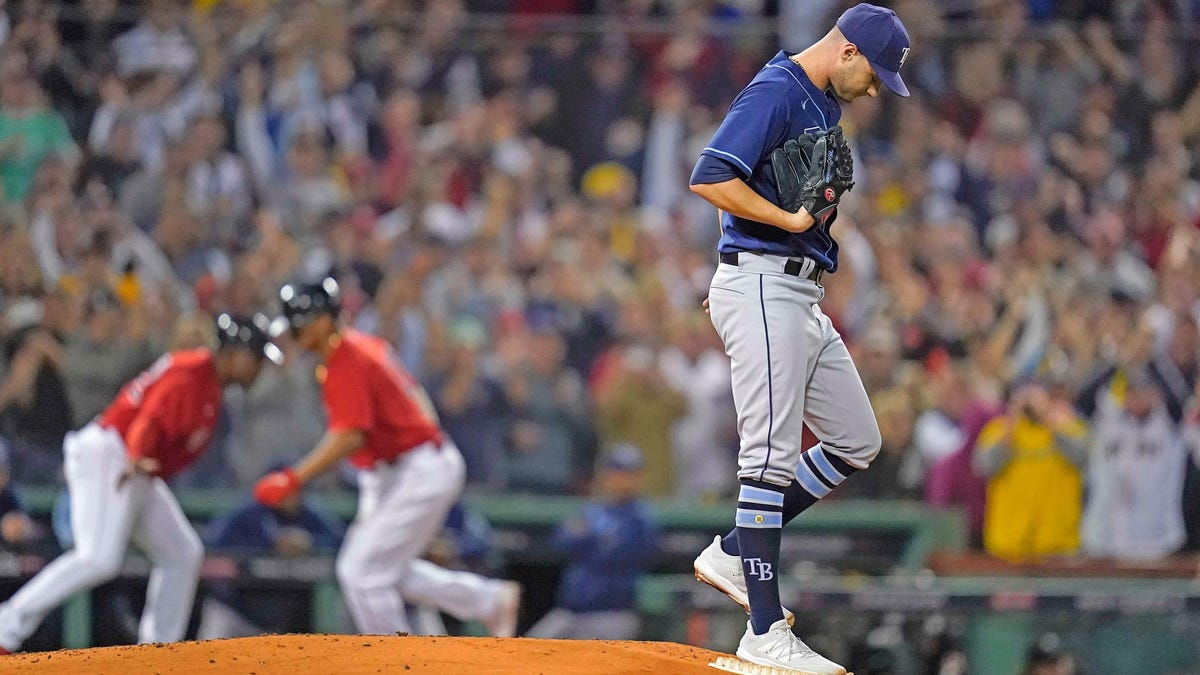 Rays loss to Red Sox proves you can't pitch your way to a World Series title