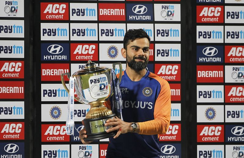 Virat Kohli has won plenty of bilateral series in his time as Indian skipper but has failed to bring home an ICC trophy.