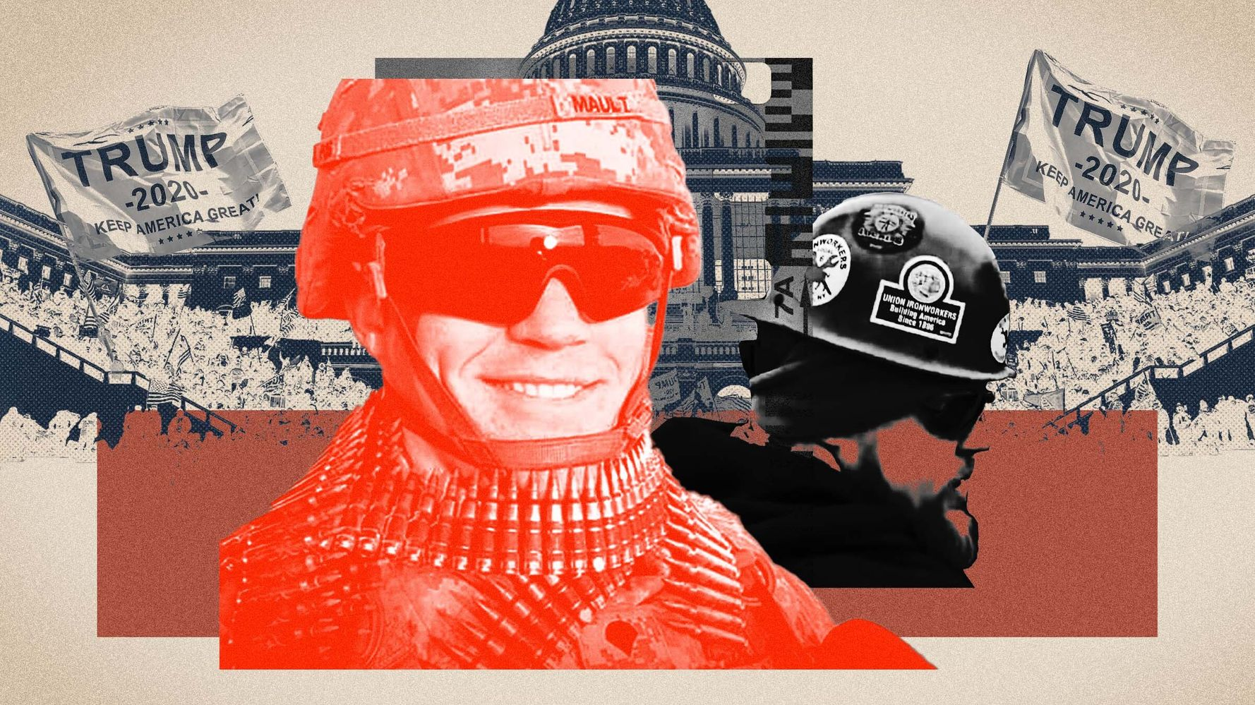 He Attacked Cops At The Capitol. The FBI Interviewed Him. Then He Rejoined The Army.