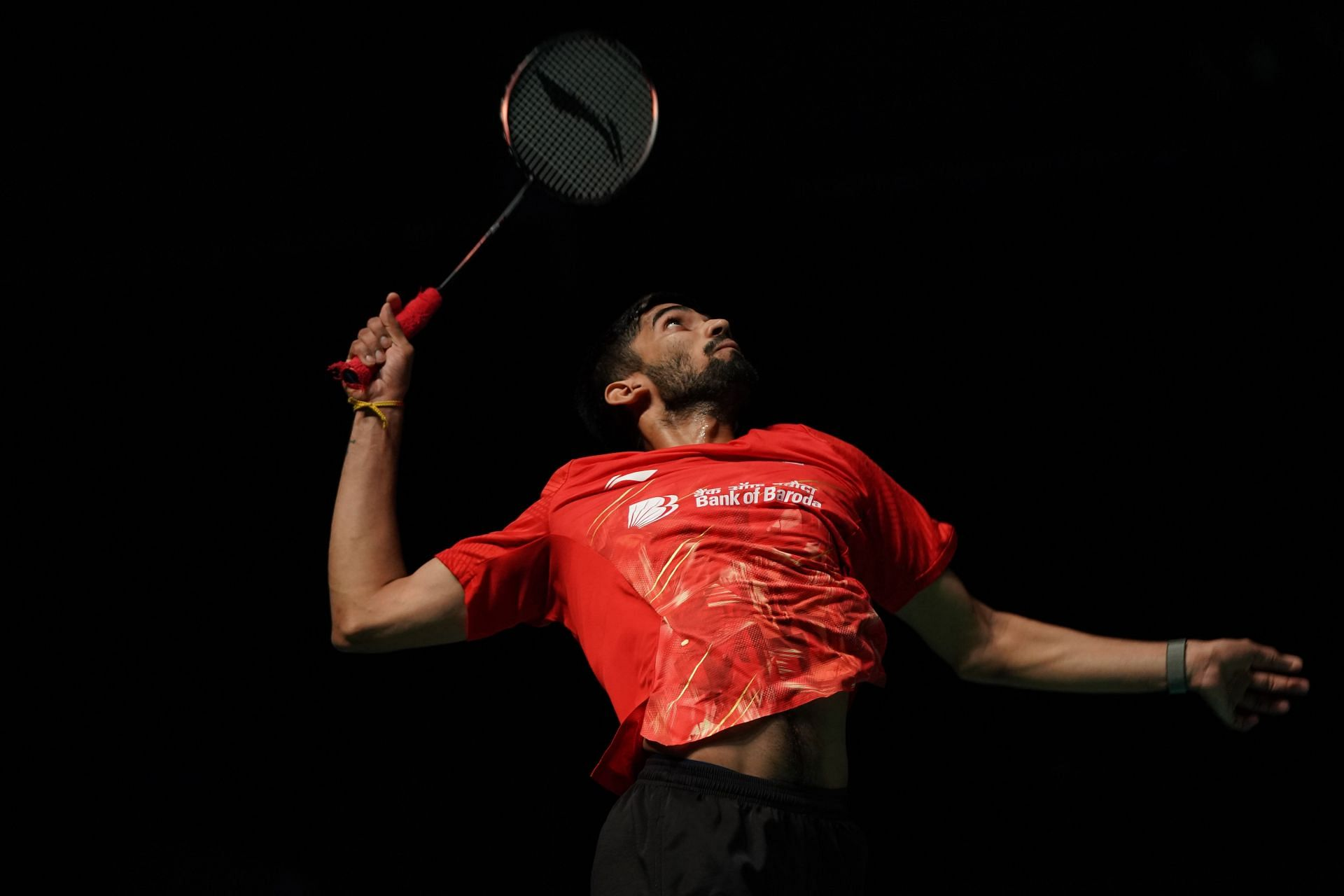 India's Kidambi Srikanth in action.
