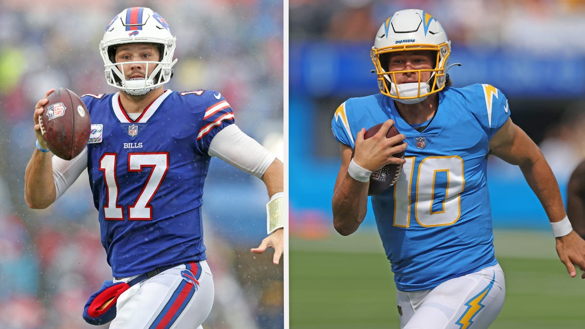 With Josh Allen and Justin Herbert, L.A. Chargers and Buffalo Bills are class of conference