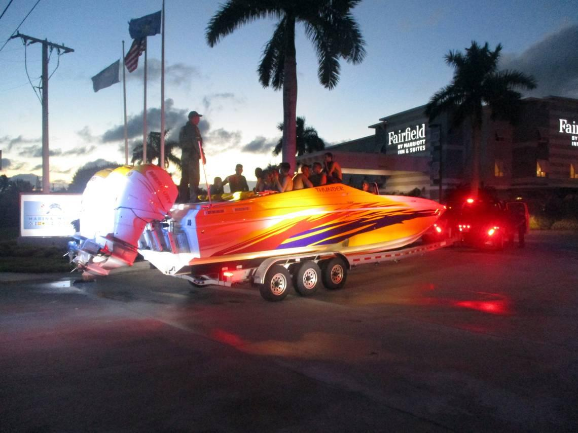 Deputies stopped a truck hauling a boat in the Keys. What they found next was concerning