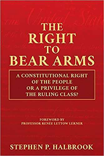 Stephen Halbrook Guest-Blogging About the Second Amendment and Public Carry of Firearms – Reason.com