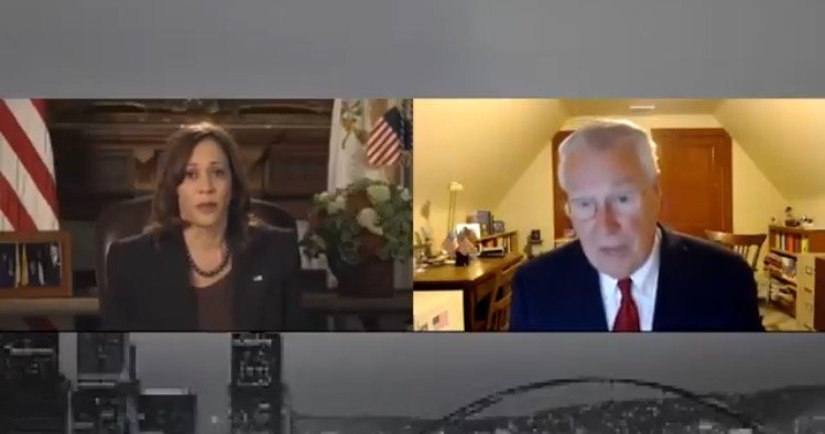 """""""Last Question!"""" Kamala Harris' Aide Rudely Interrupts Local Pittsburgh Reporter Asking About Supply Chain Crisis Created by Joe Biden (VIDEO)"""