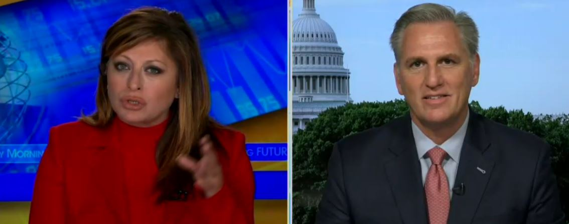 A Terrified Kevin McCarthy Claims That Congress Has No Right To His Phone Records