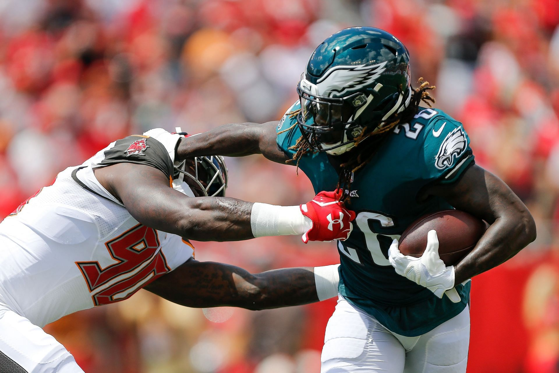 Philadelphia Eagles face the Tampa Bay Buccaneers on Thursday night