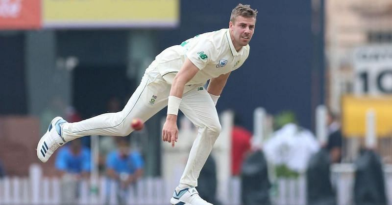 Anrich Nortje made his Test debut against India in 2019 (PC: Scroll).