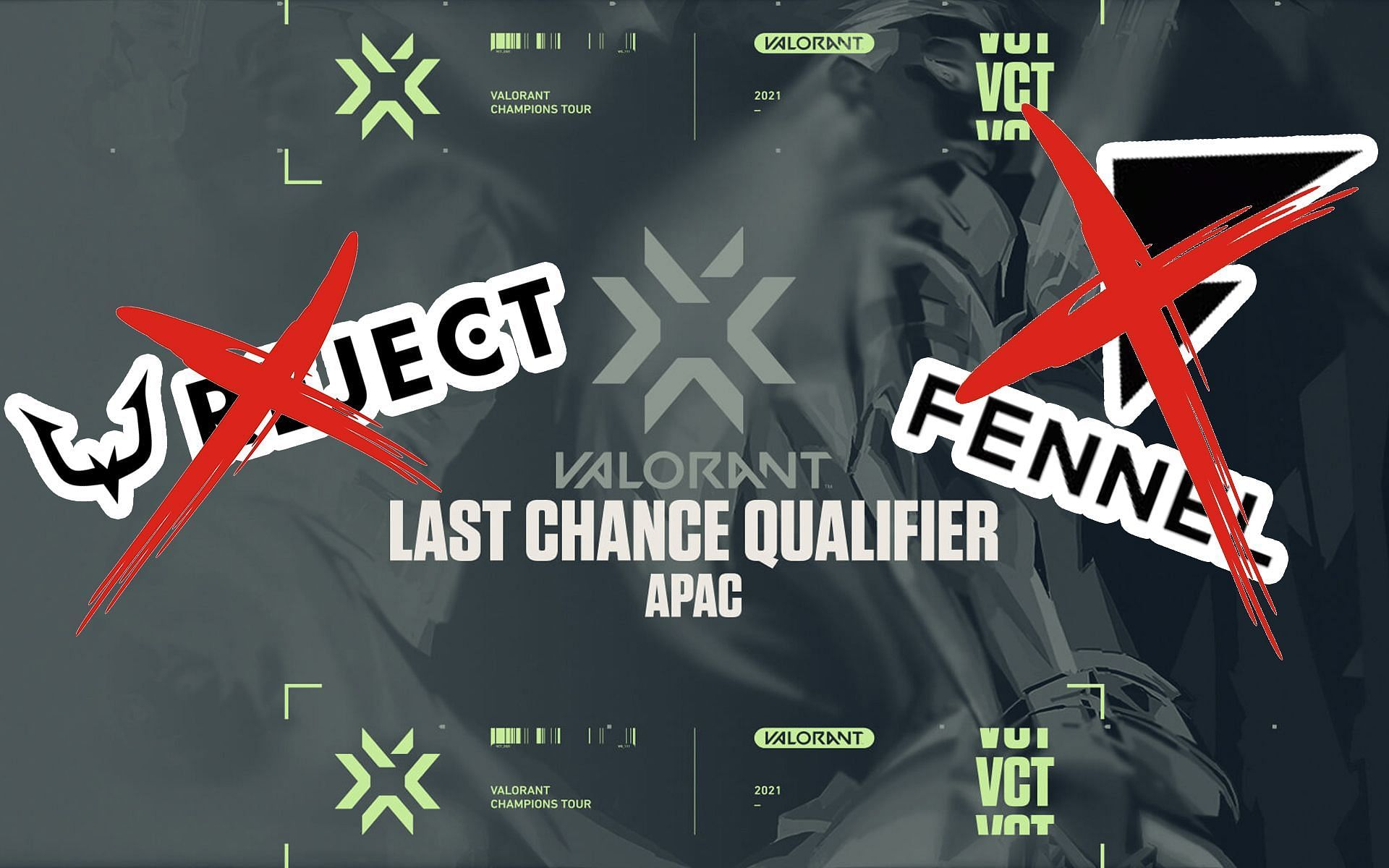 REJECT AND FENNEL gets eliminated in the Valorant Champions Tour APAC LCQ (Image by Sportskeeda)