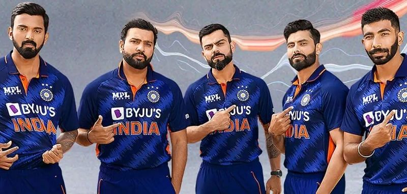 BCCI revealed a new kit for the Indian cricket team earlier today