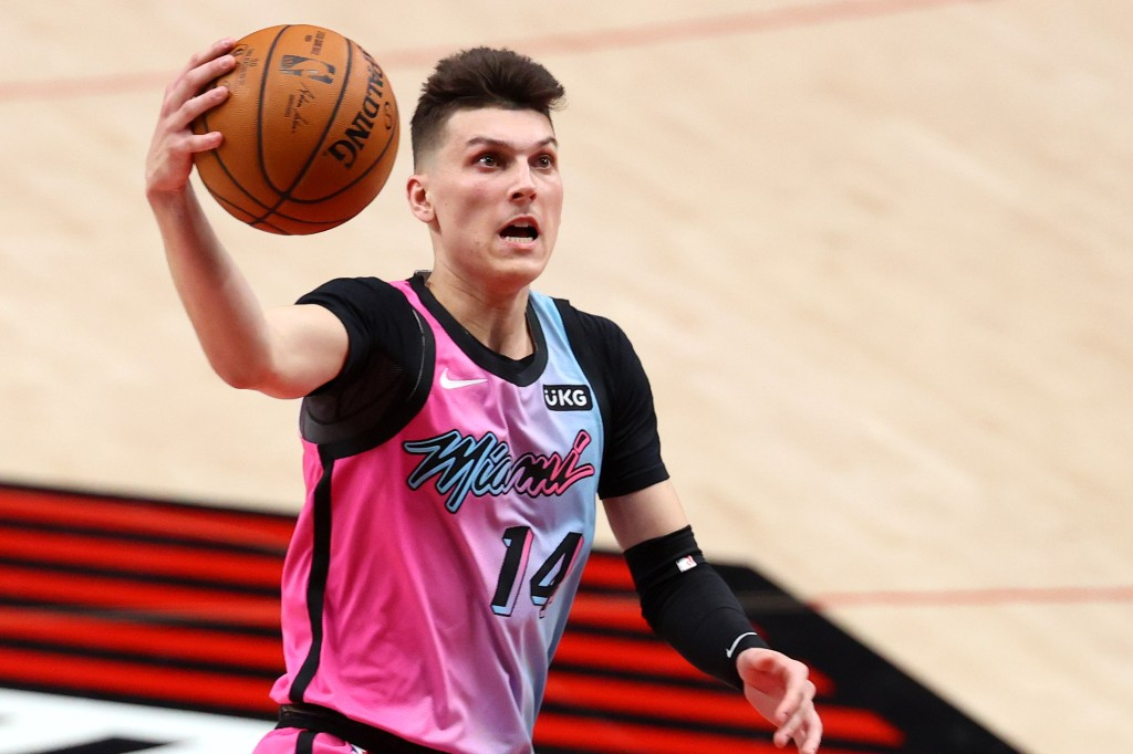 Tyler Herro believes he's up there with Luka Doncic and more