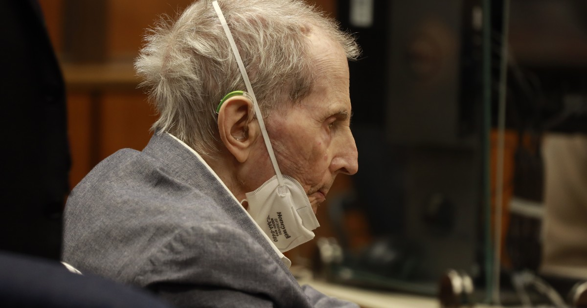 Family of Robert Durst's wife asks to speak at sentencing