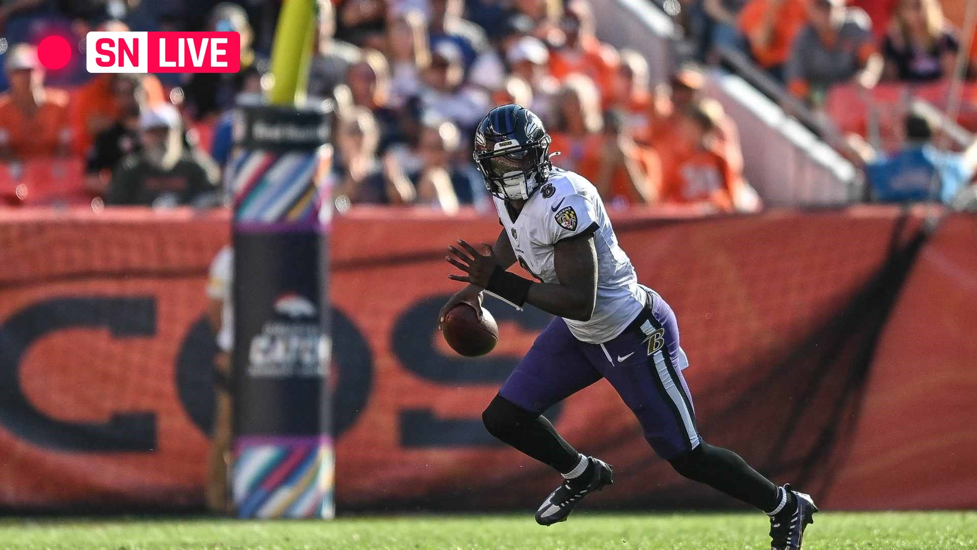 Colts vs. Ravens live score, updates, highlights from NFL 'Monday Night Football' game