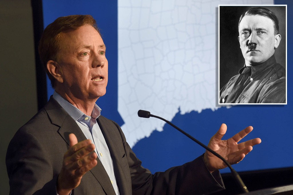 Connecticut Gov. Ned Lamont compared to Hitler over COVID stance