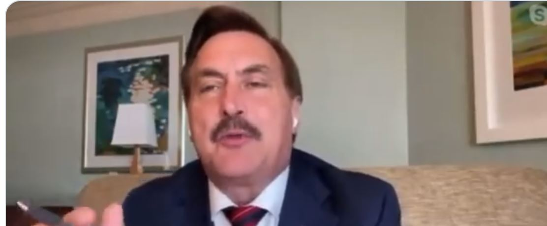 Mike Lindell Wants Trump Reinstated Because He Thinks 23,000 Dead People Voted In Wisconsin