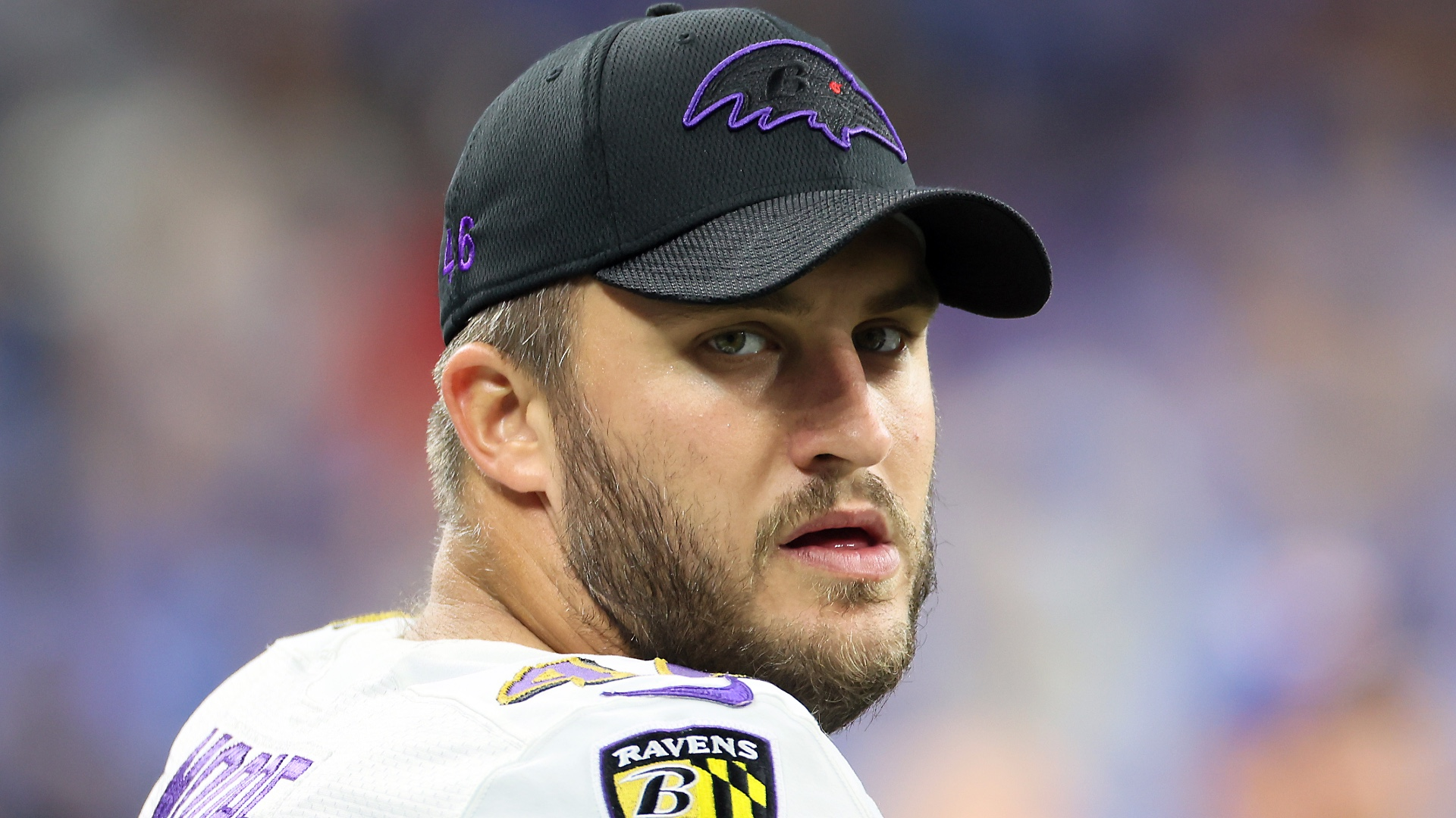 How Ravens long snapper Nick Moore reached NFL after leaving Red Sox, baseball behind