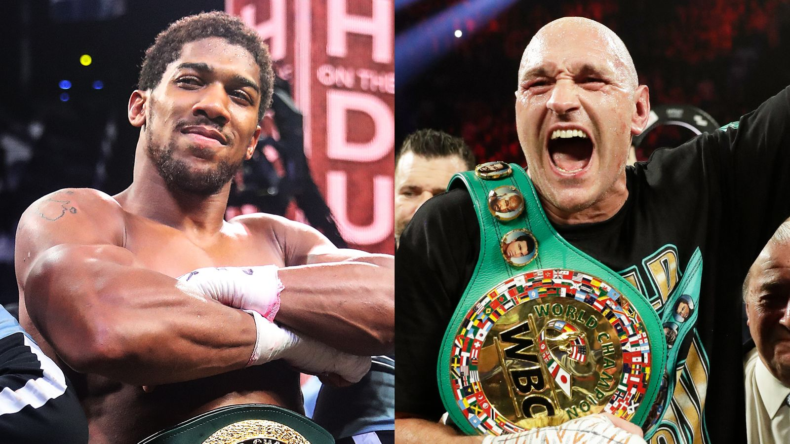 Anthony Joshua should allow Tyson Fury to fight Oleksandr Usyk then face the winner, says promoter Frank Warren   Boxing News