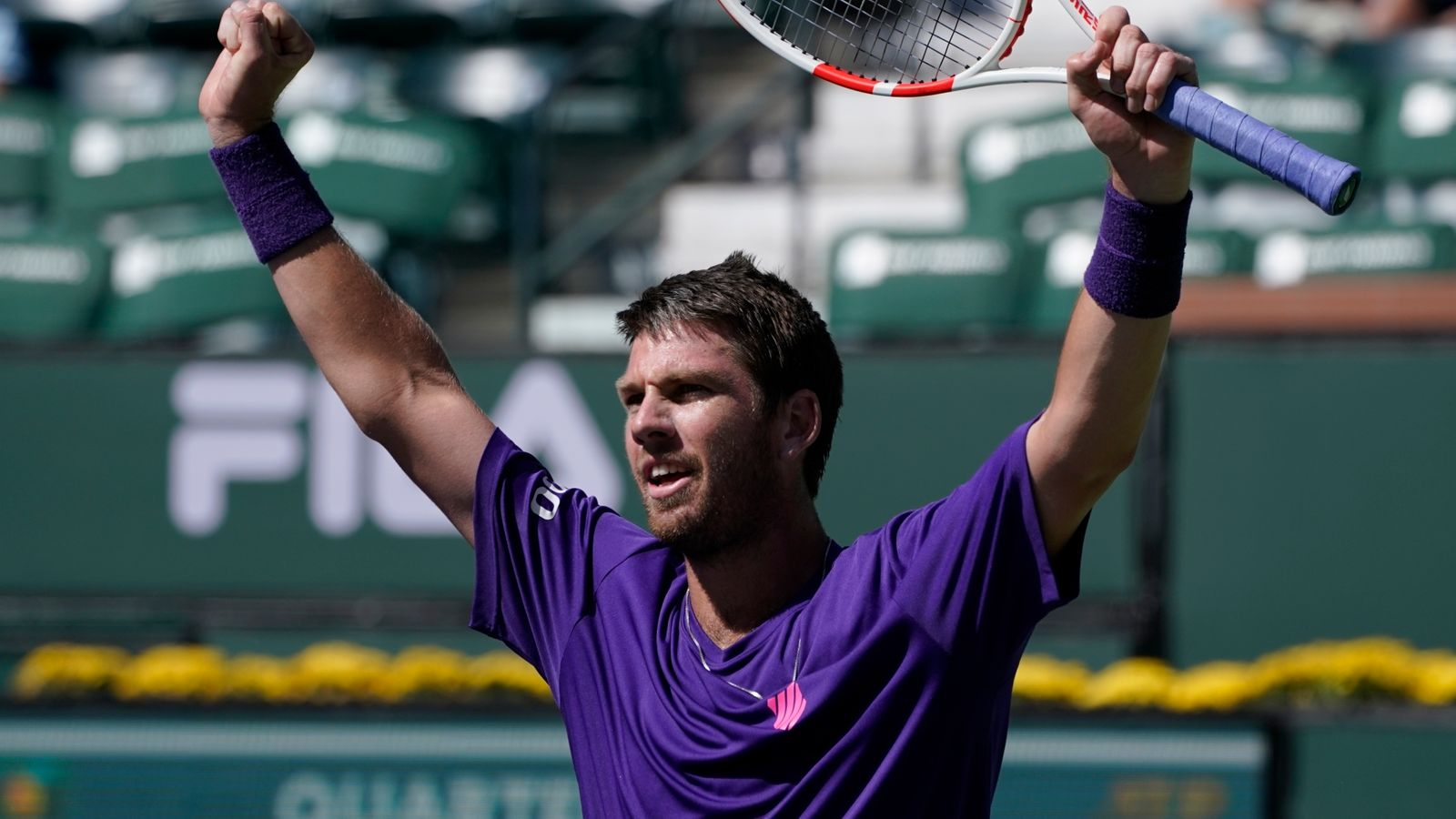 Cameron Norrie reaches Indian Wells semi-finals to become British No 1 with win over Diego Schwartzman | Tennis News